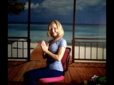 Yoga for All - A Chair Supported Practice (New Version) - YouTube