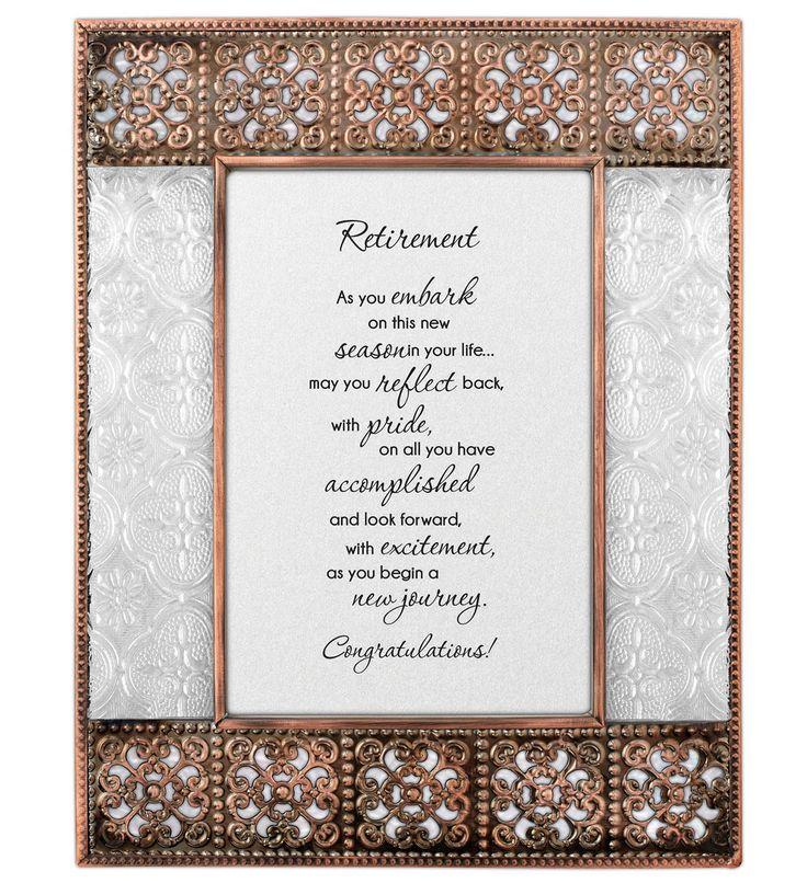 LoveLea Retirement Picture Frame