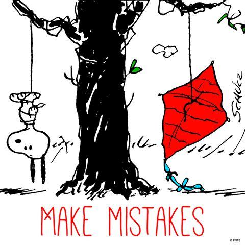 It's OK to make mistakes.