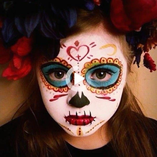 Halloween Gesichter Kinderschminken.Halloween Gesichter Schminken 30 Einfache Beispiele Mit Garantiertem Gruseleffekt In 2021 Halloween Gesicht Schminken Halloween Gesicht Halloween Schminken Kinder