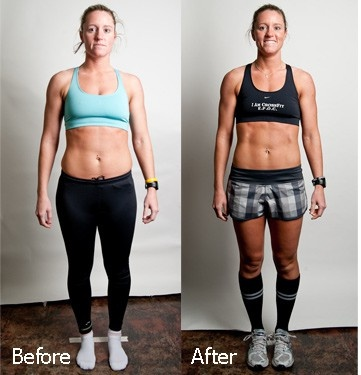 Awesome CrossFit transformation