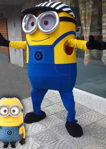Custom made Minion mascot / Despicable me cosplay Minion costume/ Giant mascot