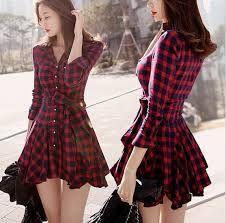 Resultado de imágenes de Google para http://g03.a.alicdn.com/kf/HTB1LsmdHVXXXXaGXpXXq6xXFXXXG/Moda-oto%C3%B1o-2015-primavera-ropa-coreana-casuales-para-mujeres-red-vestido-feminino-ca%C3%ADda-corta-delgada-de.jpg