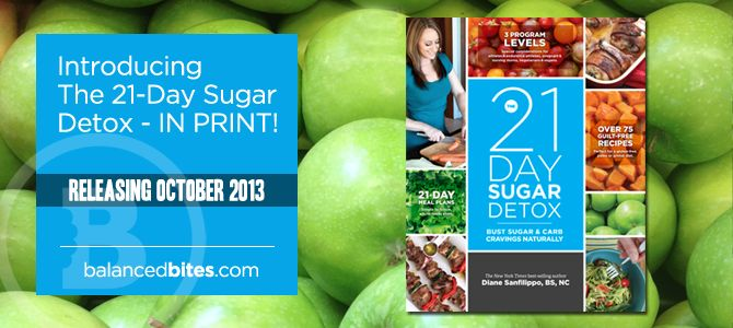 Are you ready to get your sugar and carb cravings under control? The 21-Day Sugar Detox is a clear-cut, effective, whole-foods-based nutrition action plan that will naturally re-set your body and your habits! More than 10,000 people have already succeeded with this easy-to-follow plan. Now it's your turn! In just three weeks, you can free yourself from cravings, regain your energy, and feel great again. #21DSD #21dsdbook #sugar #detox