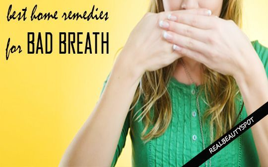 Cure bad breath with these simple Home Remedies - ♥ Real Beauty Spot ♥ #BadBreathCure