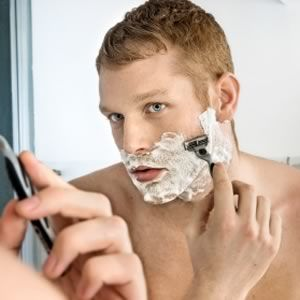 Did you know that #men spend an average of five months of their lives #shaving? Learn some new tricks here from AskMen.com.