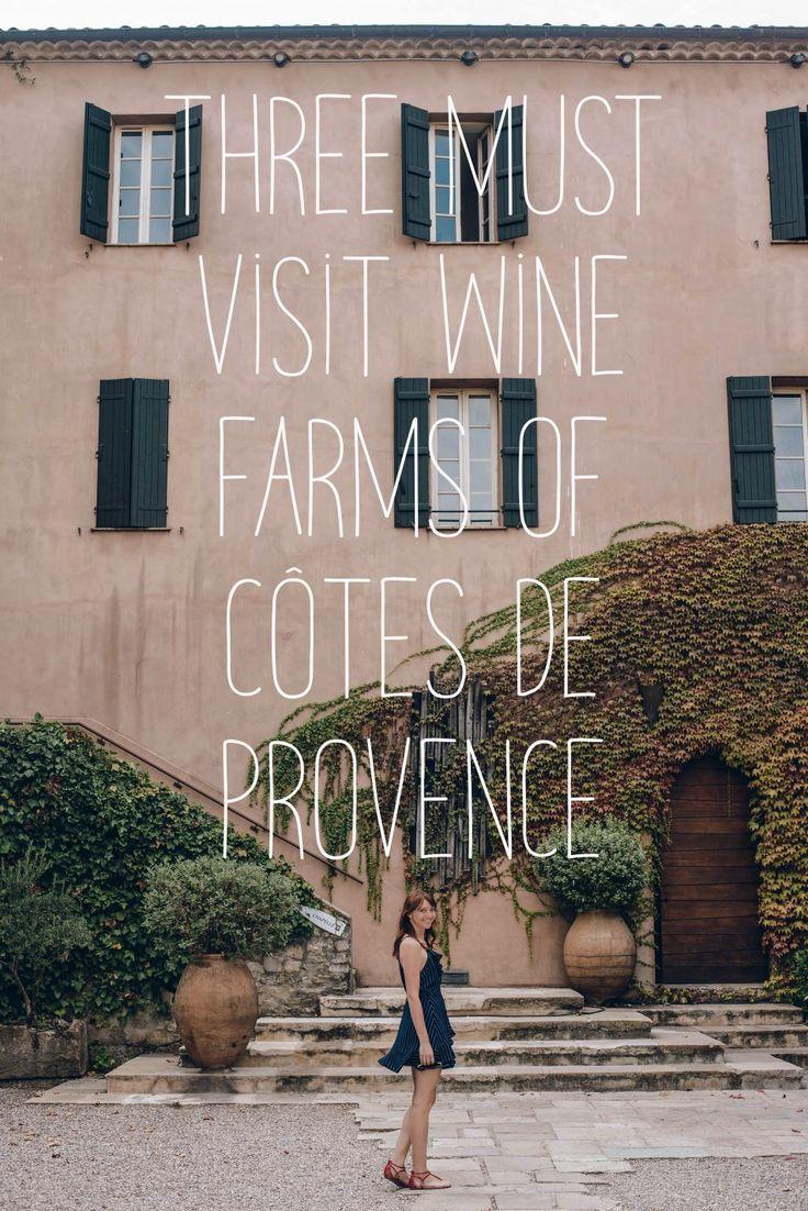 Wine Farms of Côtes de Provence