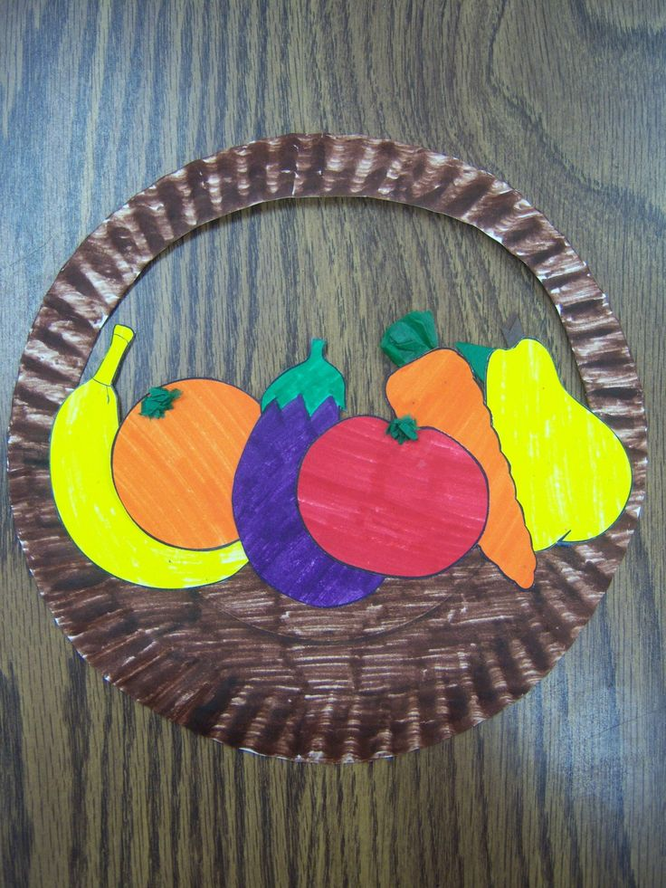 Fruit of the Spirit paper plate craft