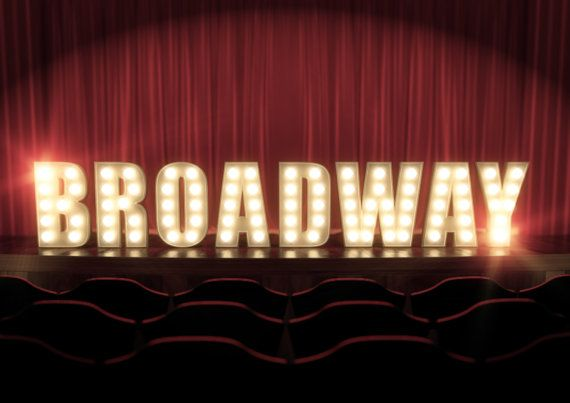 Stage Lights Broadway West End Or Little Star