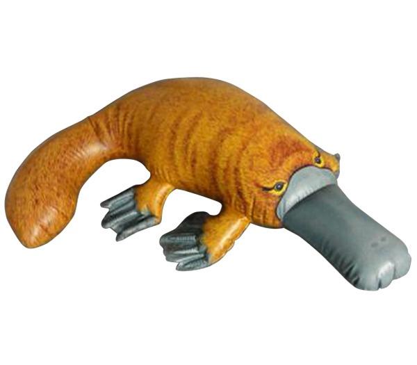 """39"""" L Inflatable Platypus Australia Animal"""