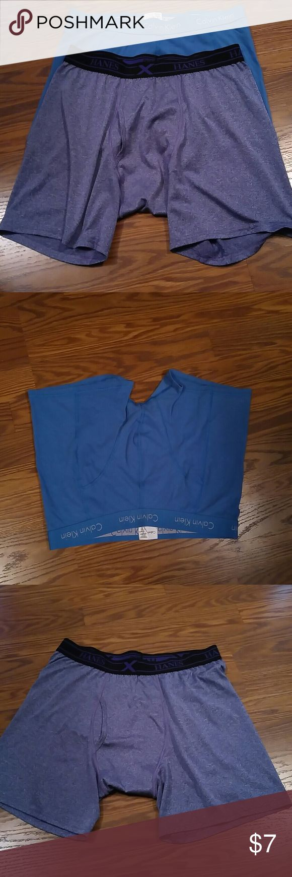 Two Pairs of Men Underwear ***  NWOT*** One by Hanes and one by Calvin Klein. Underwear & Socks Briefs