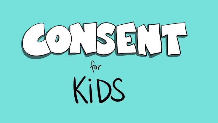 consent for kids video
