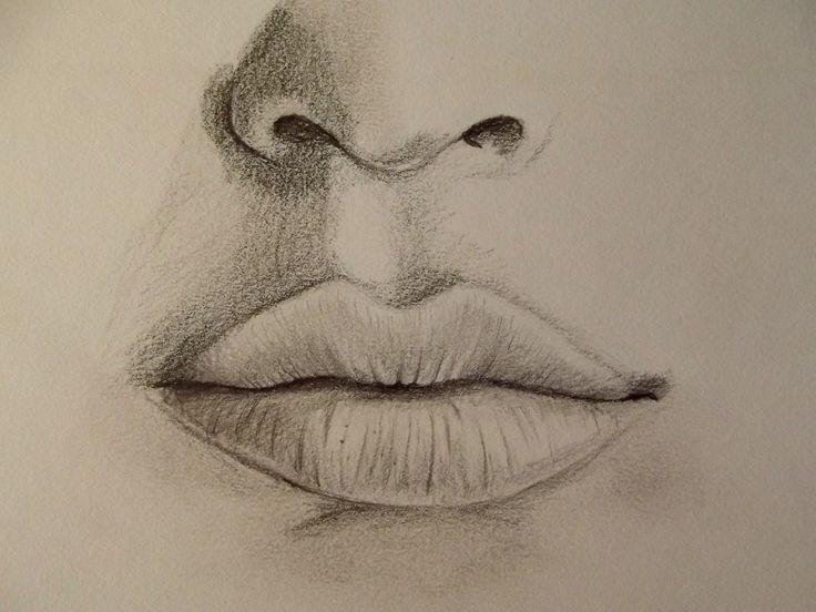 Realistischen Mund zeichnen – Zeichen Tutorial
