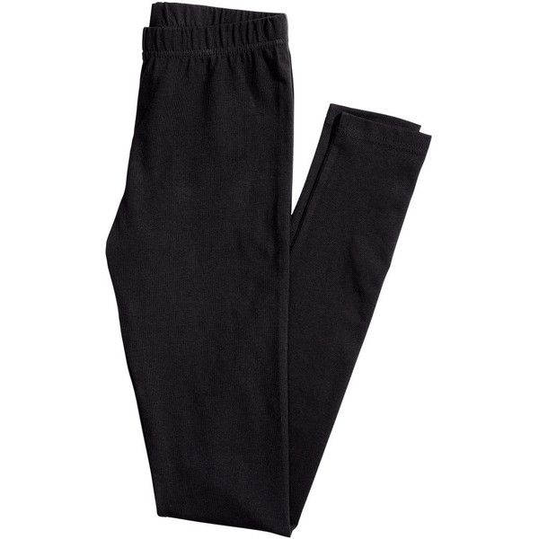 Jersey Leggings $9.99 (€8,29) ❤ liked on Polyvore featuring pants, leggings, h&m leggings, elastic waistband pants, stretch waist pants, h&m trousers and elastic waist pants