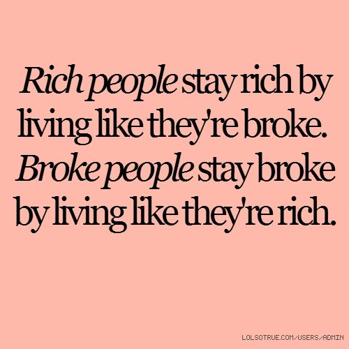 Not from Dave Ramsey ... but certainly along the same principles. Live like no one else, so you can live like no one else ;)
