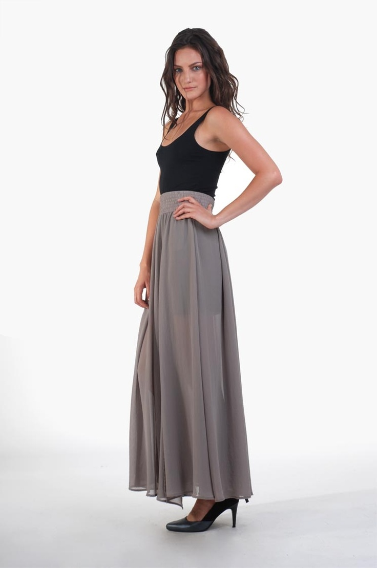 hannah side split skirt - faithfuls W12 : skirts • shop online • m o o c h i