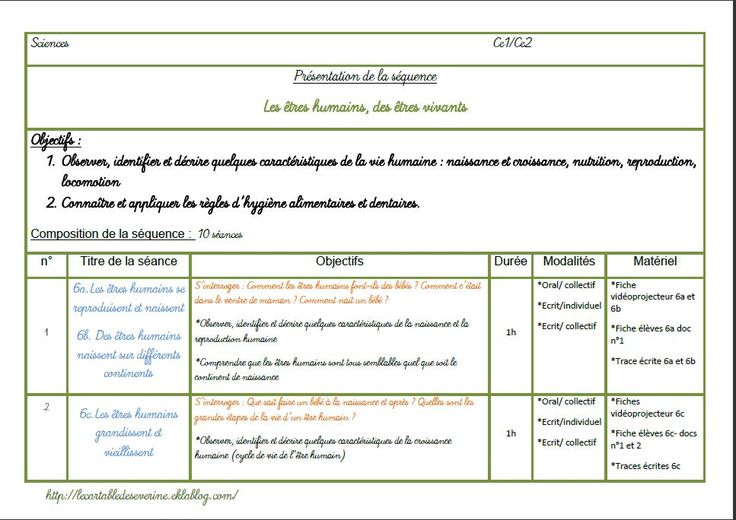 Fichier sciences (CP)/CE1/CE2
