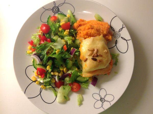 Oppskrift: torsk- og søtpotetform & raske, sunne desserttips