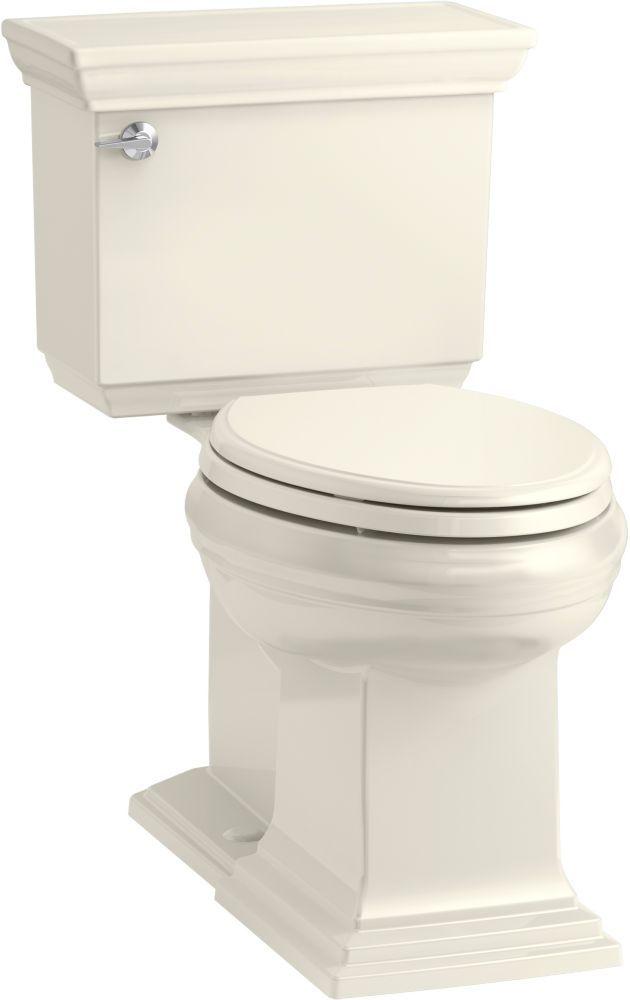 Stately Comfort Height 2 Piece Elongated 1 28 Gpf Toilet With Aquapiston Flush Technology Kohler Toilet Kohler Toilet