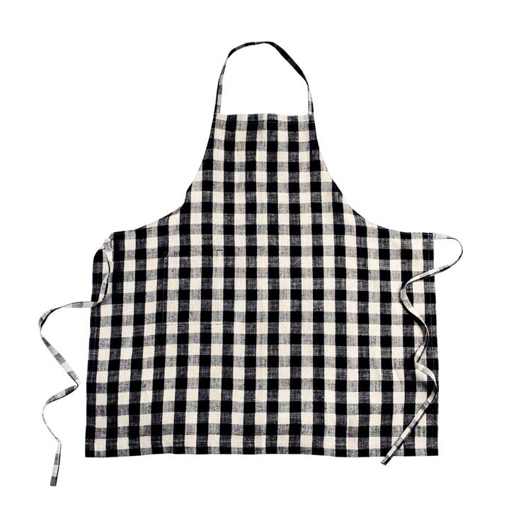 """FOG LINEN  This daily apron provides full coverage in a classic bib style. Functional  and long-lasting, it boasts a pocket for tools, utensils, and, of course,  tired hands. Yumiko Sekine developed Fog Linen when she was unable to find  the affordable, everyday linens she remembered from her childhood and began  working with several Lithuanian linen producers to bring her designs to  life.      * 100% linen     * Measures 33"""" x 34""""     * Machine wash gentle; dry cool or line dry"""