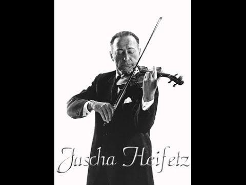 Яша Хейфец исполняет 24 каприз Паганини - YouTube