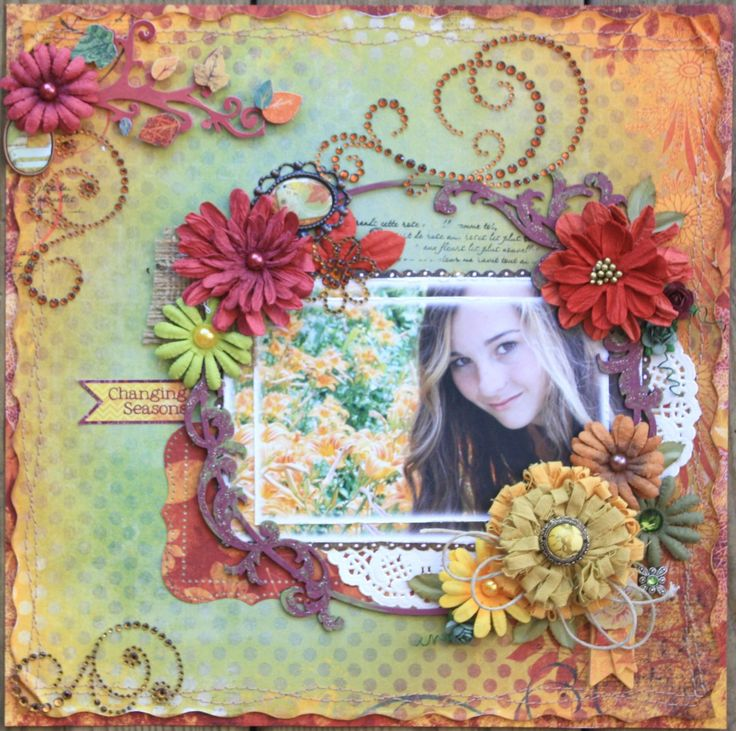 Changing Seasons **NEW Bo Bunny 'Autumn Song'** - Scrapbook.com