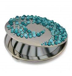 Mont Bleu Corals Luxury Compact Makeup Mirror ACS-07.5