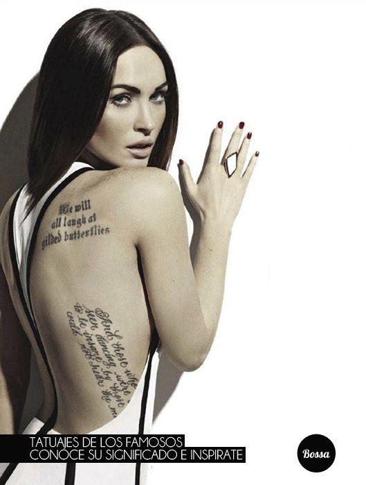 Tatuajes De Famosos El Ultimo Accesorio De Moda: Top 25 Ideas About Tatuajes De Famosos