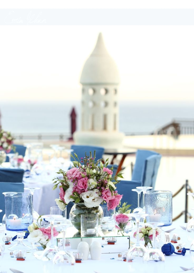 wedding dinner table bodrum