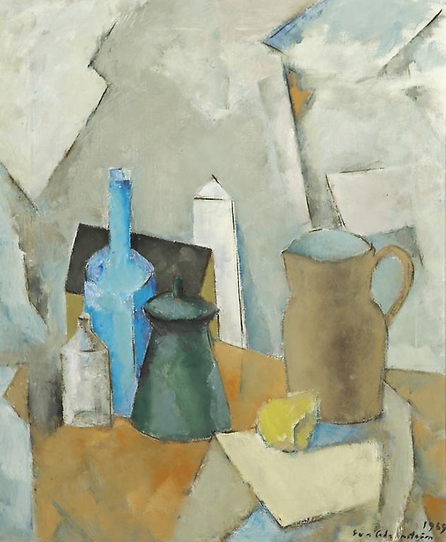 Eva Cederström (1909-1995) 'kannuasetelma' 1969