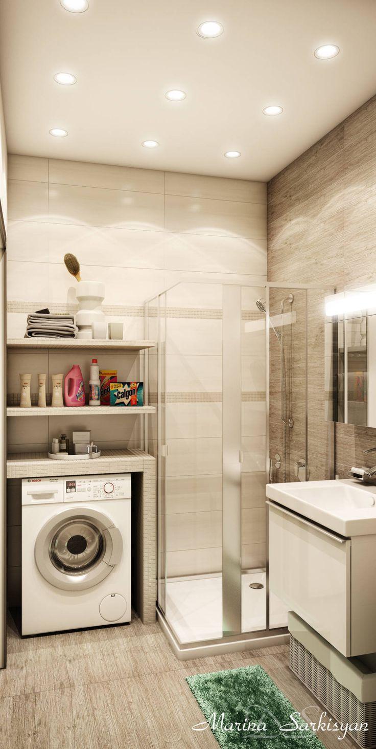 에클레틱 욕실 by Marina Sarkisyan