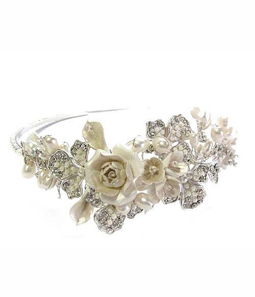 Ti Adoro-Rose Headband