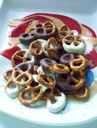 Chocolate Covered Pretzels Recipe - Food.com: Food.com