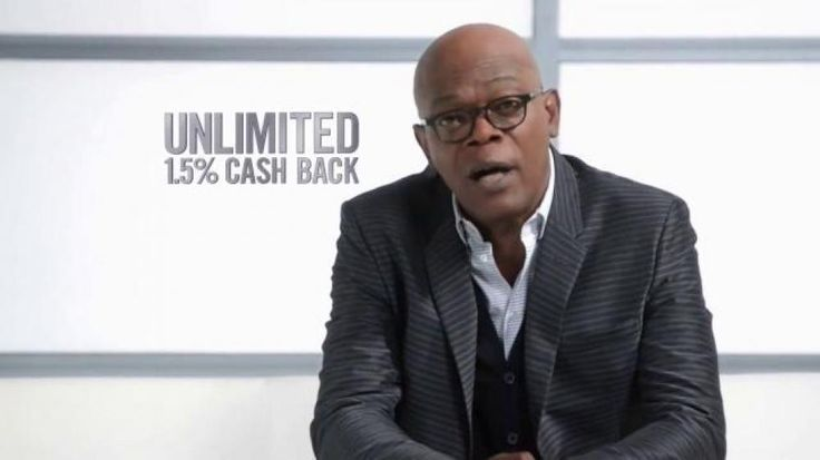 Some cashback credit cards overcomplicate things by limiting where you can earn cash. Samuel L. Jackson doesn't put up with that; he likes to keep things real simple. The Capital One Quicksilver Card earns you 1.5 percent cash back on every purchase, everywhere.