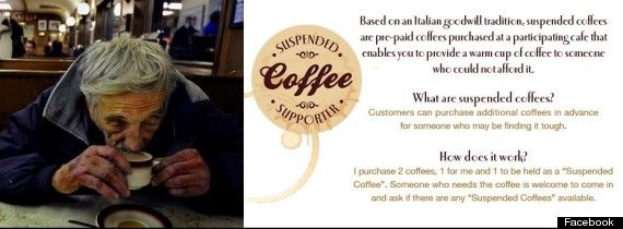 Conscious Consumerism - Suspended coffee, Suspended Coffee: Caffeine Based Acts Of Kindness That Are Warming Hearts Across The World