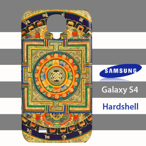 Endless Knot Mandala Samsung Galaxy S4 Case Cover Hardshell