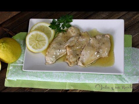 Pechugas de pollo en salsa de limón   Cocina
