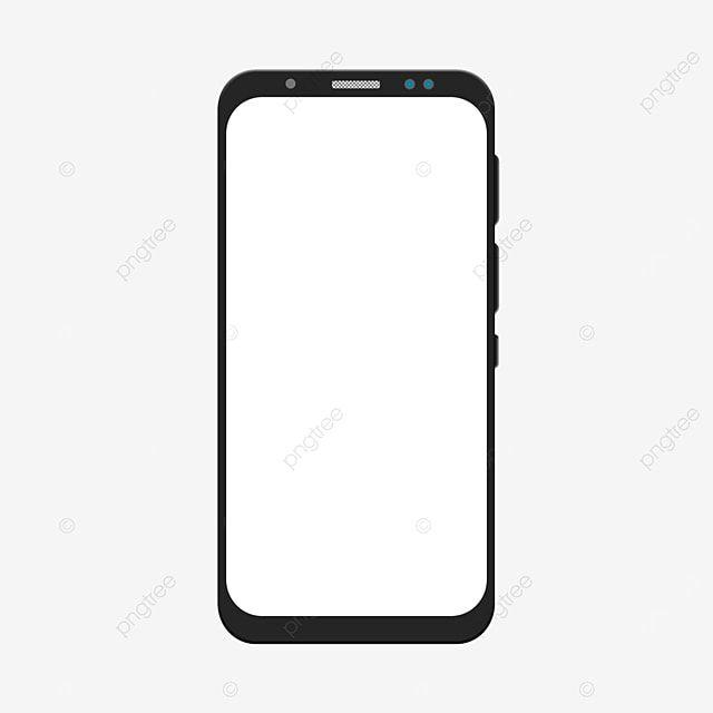 Smartphone Mockup Design Android Mobile Phone Frame Hanging On Transparent Background Mobile Mockup Smartphone Mockup Gadget Png And Vector With Transparent In 2021 Mockup Design Mobile Mockup Phone