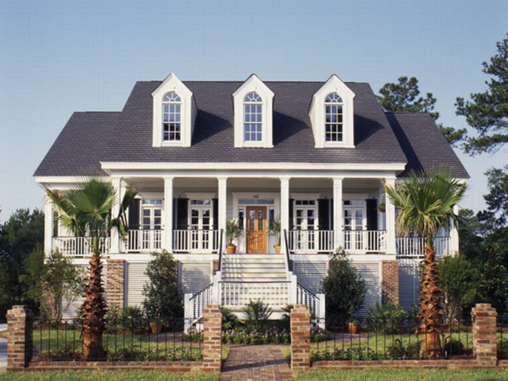 Colonial house plans southern house plans and cape cod for Southern colonial house plans