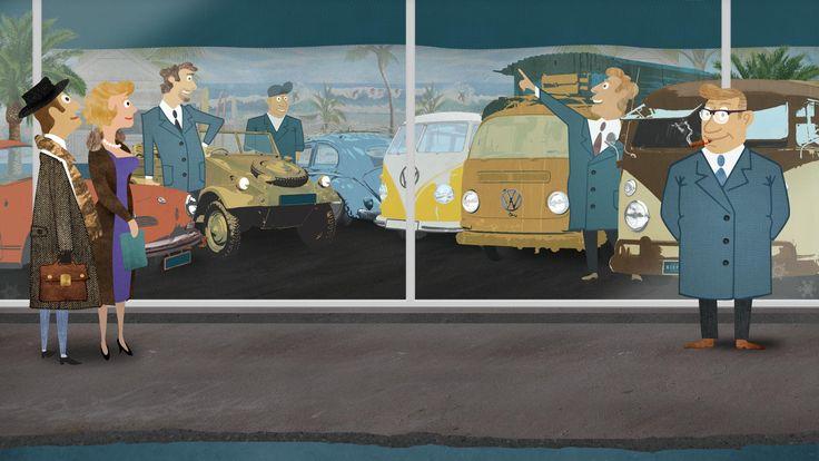 KIEFT & KLOK - Vintage Volkswagens - Showroom: vw t1 spijlbus samba bulli camper westfalia barndoor helsinki berlin t2a t2b t2 bus panelvan ...