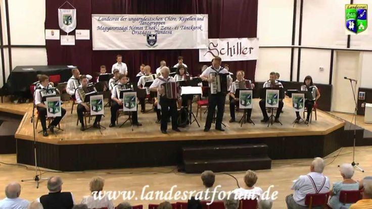"""Harmonikaauswahlorchester  """"Schönwalzer""""  2014 Werischwar"""