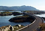 Atlantic Road, Norway  The Atlantic Road is a 8km stretch of road between the towns of Kristiansund and Molde, the two main population centres in the county of Møre og Romsdal in Fjord Norway.
