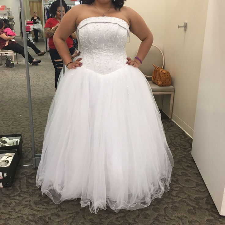 Sweet sixteen Cinderella dress white (With images