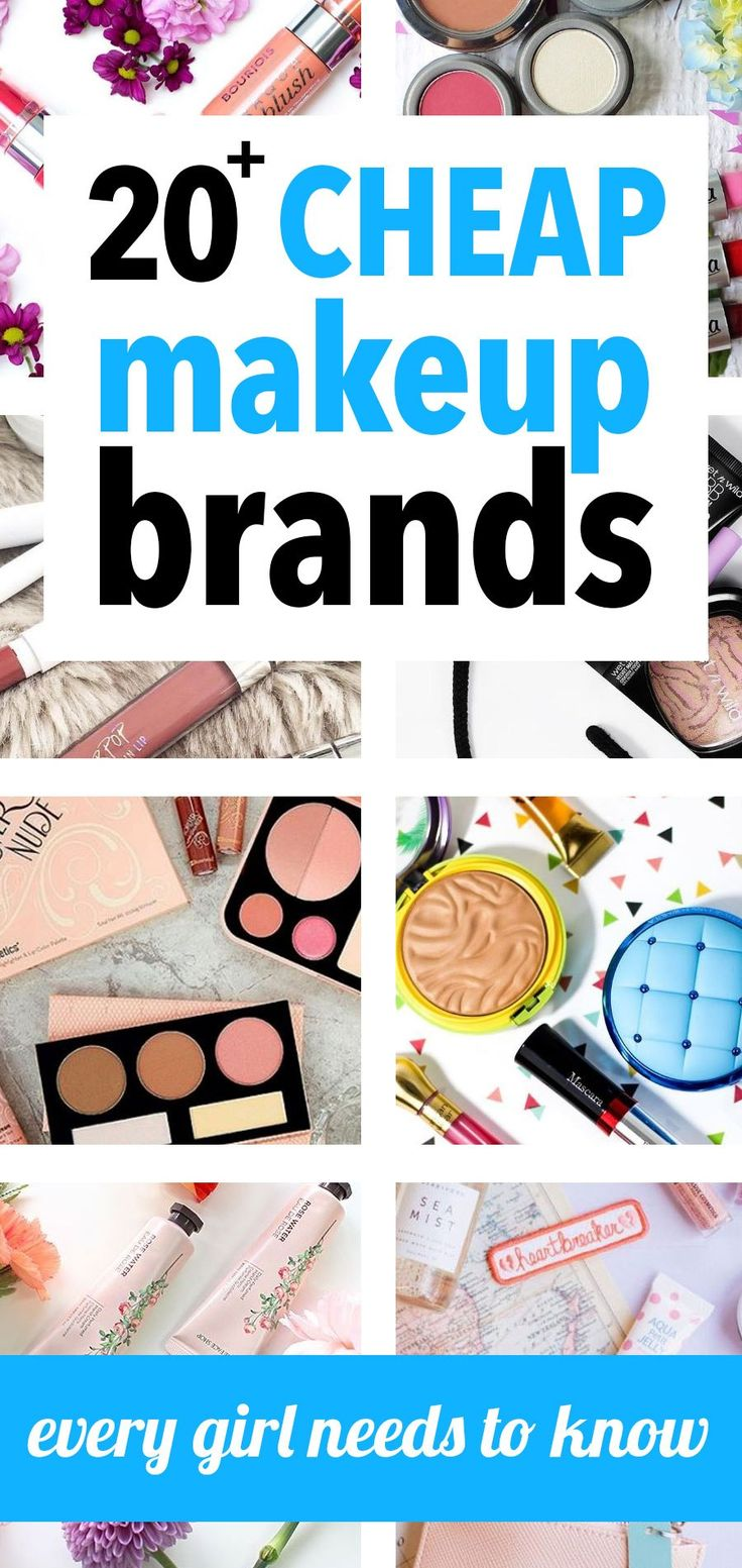 20 Cheap Makeup Brands For Beauty Addicts On A Budget