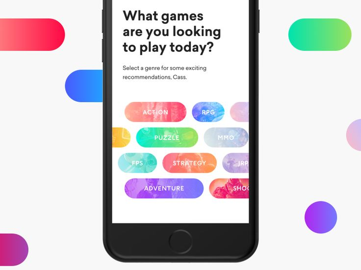 A little games recommendation app for iOS that we are currently designing and developing.    -----  Need a cool iOS app or website?  Let's talk - fabio@mikleo.com  Website  / Medium / Twitter