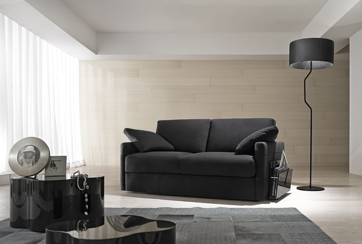 Il divano Night & Day by Samoa #black #nero #divani #furniture #pelle #leather #arredamento #design #love #home
