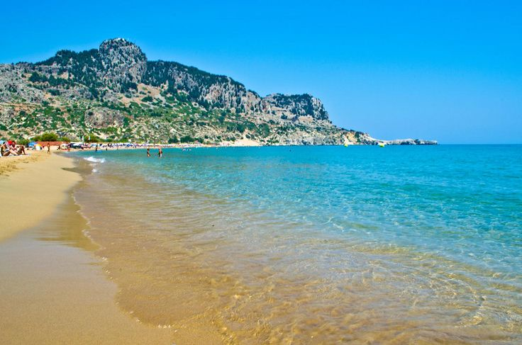Tsambika Beach Rhodes, Greece