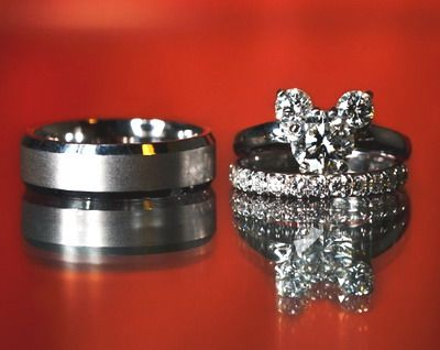 a mickey engagement ring wedding bandslove these more than words can say - Disney Engagement Rings And Wedding Bands