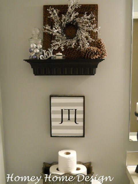 Best 25+ Christmas bathroom decor ideas on Pinterest   Christmas ...