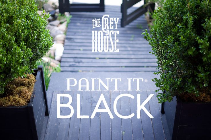 Restyling+a+Garden+House:+Paint+It+Black